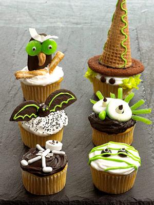 Happy Halloween Cupcakes