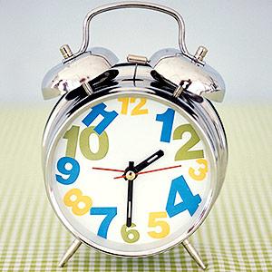 Jumbled clock