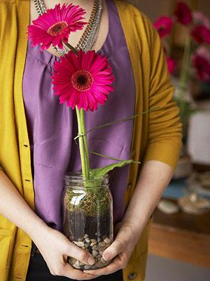 take-away bouquet