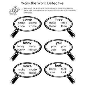 Find-the-Word Printable