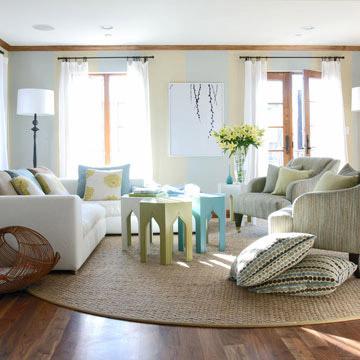 Vered Rosen Design: Living room seating arrangements