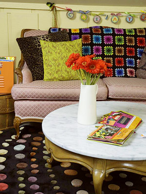 MAKE ROOM FOR COMFORT IN YOUR SCRAPBOOKING SPACE
