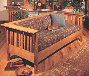 Mission Style Sofa Plans