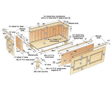 Cedar Chest Plans