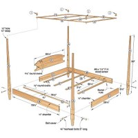 PDF DIY Wood Canopy Bed Plans Download wood carving tools ...