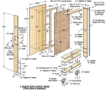 Pdf plans wooden tool cabinet plans download plans a double murphy bed macho10zst Wardrobe cabinet design woodworking plans