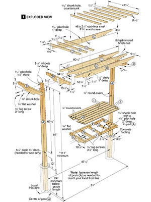 Build diy wood garden arbor plans pdf plans wooden for Plans for arbors