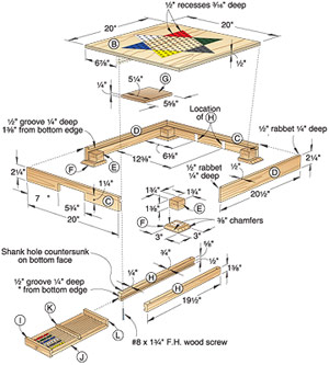 wood work plans