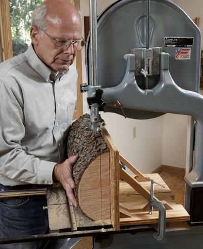 Bandsaw Resaw Sled Plans