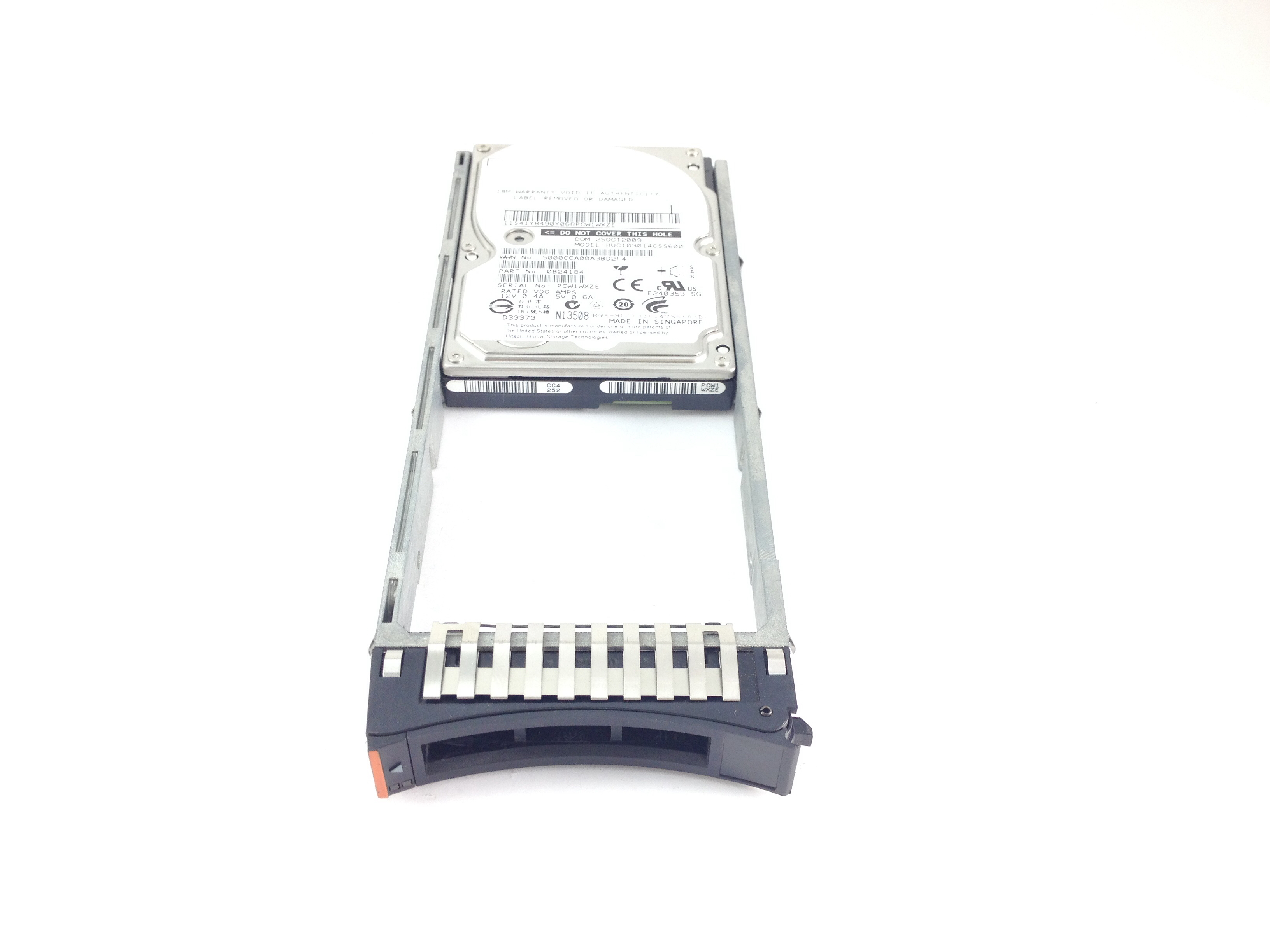 IBM HITACHI 146GB 10K SAS 2.5'' HARD DRIVE W/ TRAY (26K5267)