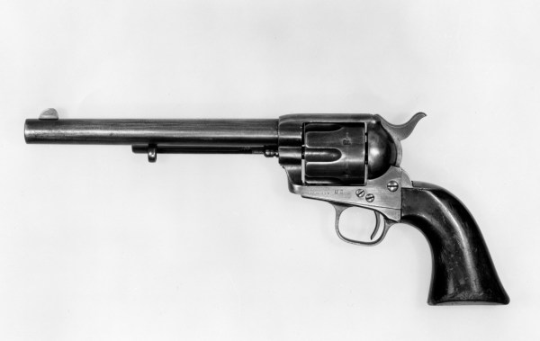 "Samuel Colt ""peacemaker"" Single-action Army"