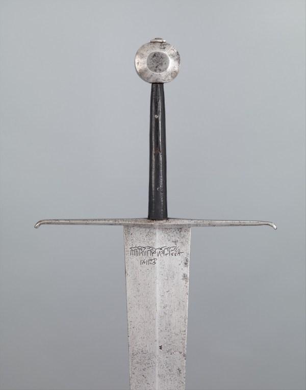 Sword Arsenal Of Alexandria European Met