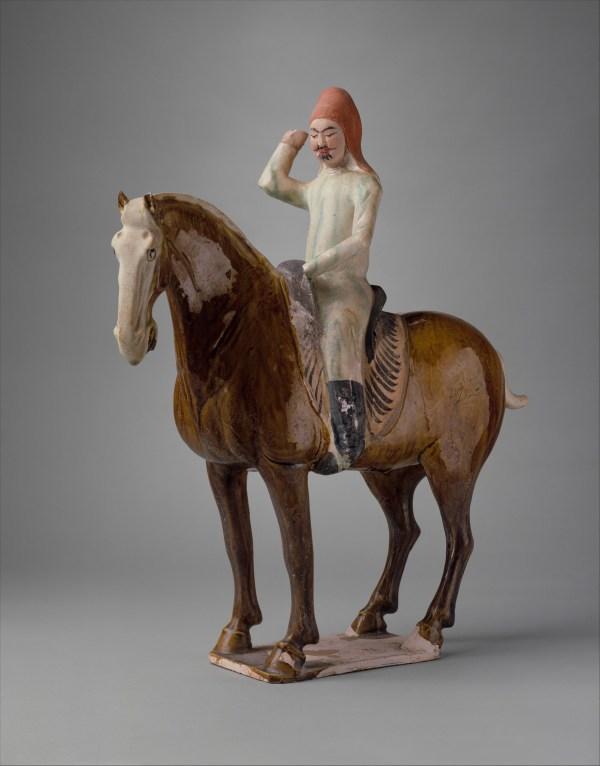 Horse And Rider China Tang Dynasty 618 907 Met
