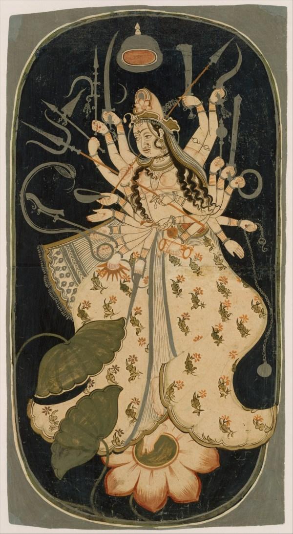 Mahadevi Great Goddess India Rajasthan Bikaner