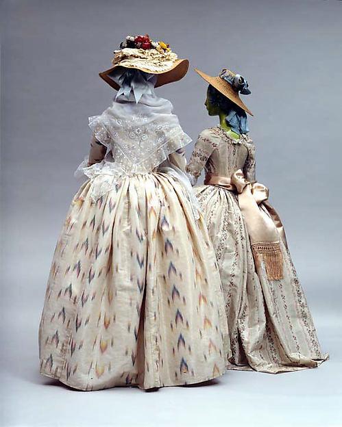 Diy do it yourself the pragmatic costumer robe la polonaise circa 1775 solutioingenieria Gallery