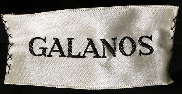 Galanos label