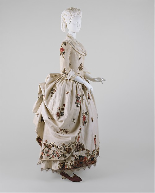 a6d8d2e7886 One Dress Two Weddings  An 18th Century Gown Remade in the 1840s ...