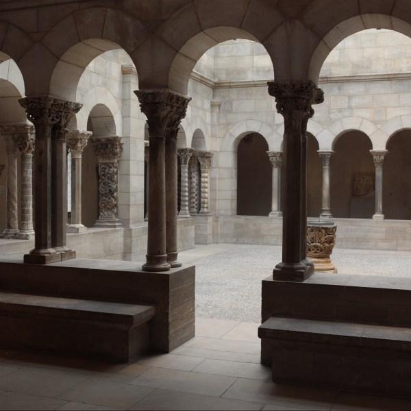 Saint-guilhem Cloister French Metropolitan Museum