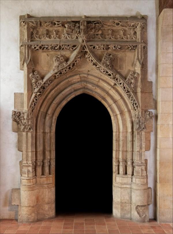 Gothic Doorway French Met