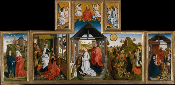 Workshop Of Rogier Van Der Weyden Nativity South