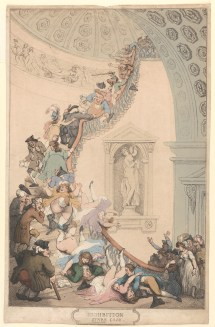 "Thomas Rowlandson Exhibition ""stare"" Case Met"