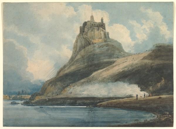 Thomas Girtin Lindisfarne Castle Holy Island