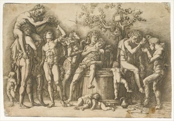 Andrea Mantegna Bacchanal With Wine Vat Met