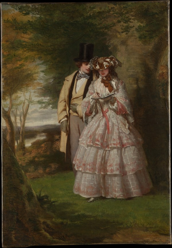 """William Powell Frith Two Central Figures In """"derby"""