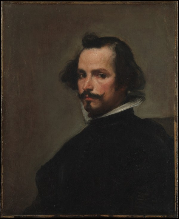 Workshop Of Velzquez Portrait Man