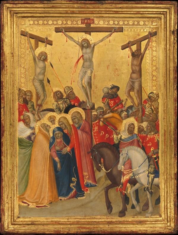 Pietro Lorenzetti Crucifixion Metropolitan