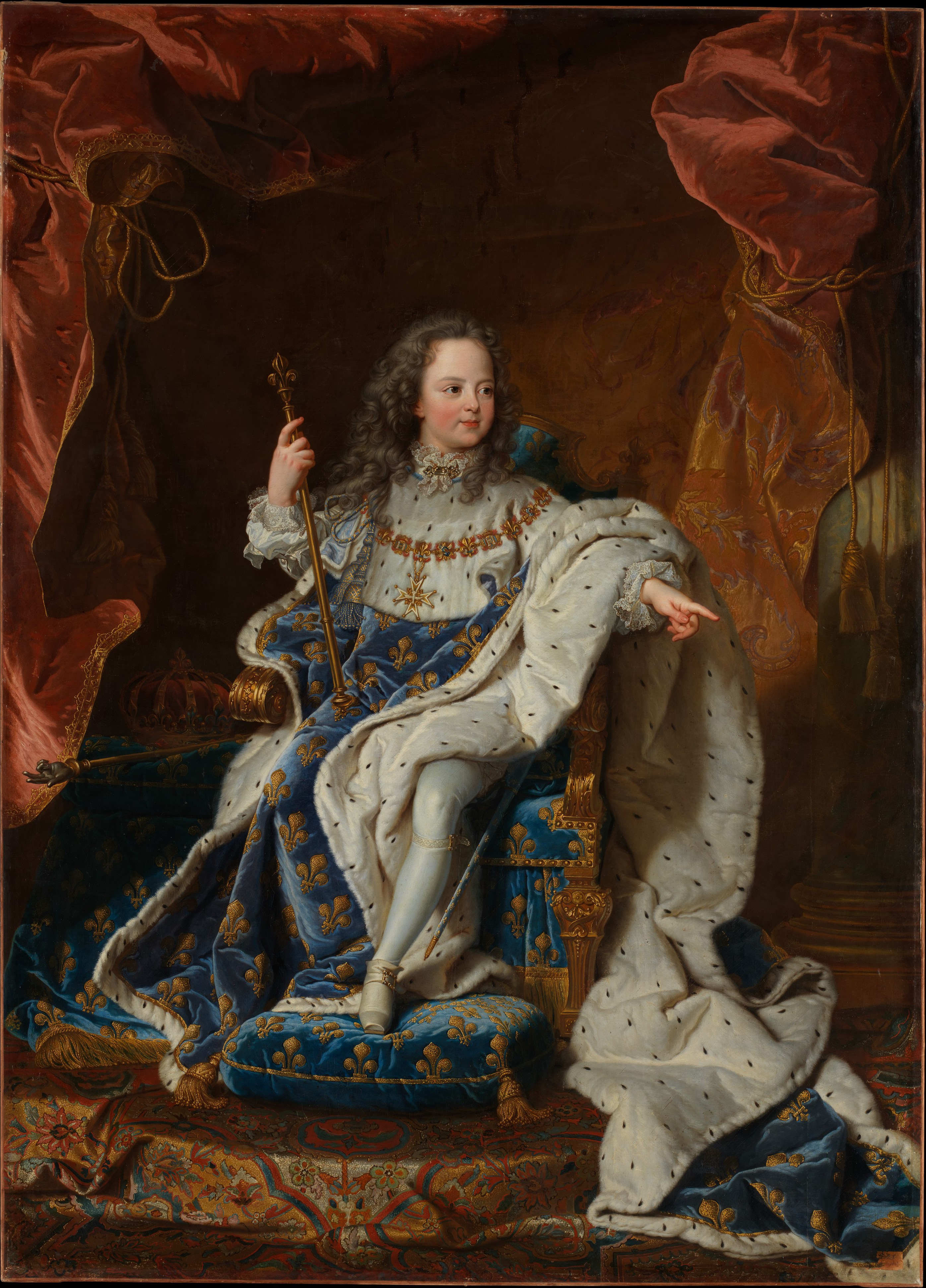 after hyacinthe rigaud louis xv 1710