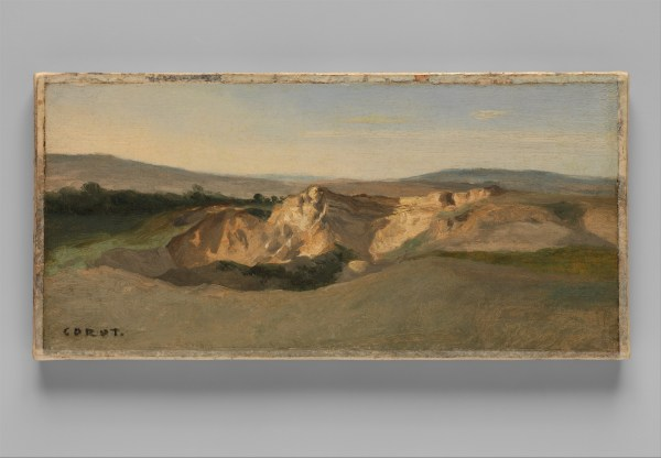 Camille Corot Italian Landscape Met