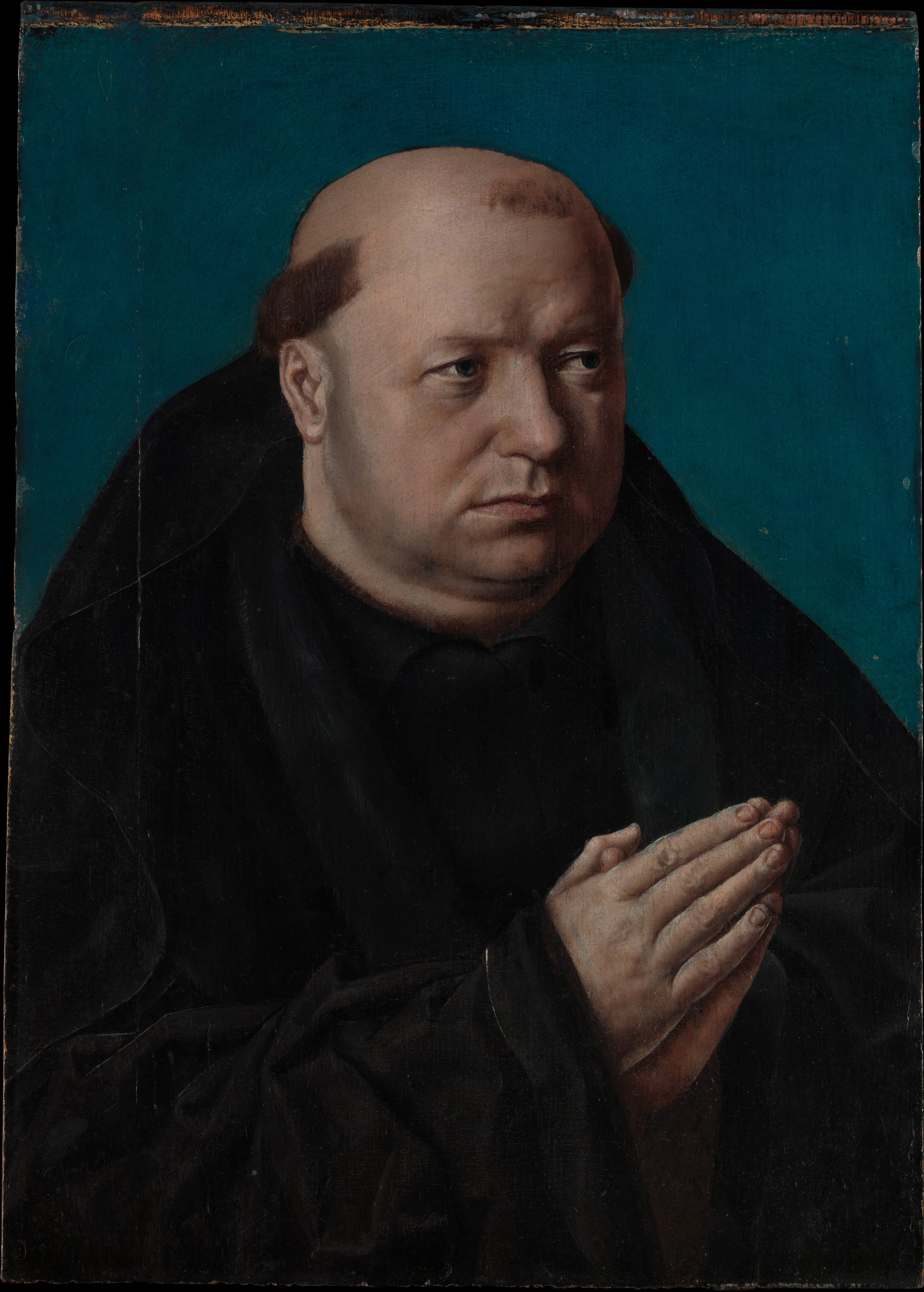 French Painter Portrait Of A Monk In Prayer The Met