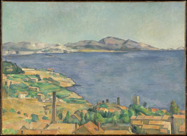 Gulf of Marseilles Paul Cezanne