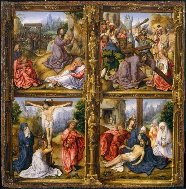 Follower Of Bernard Van Orley Four Scenes
