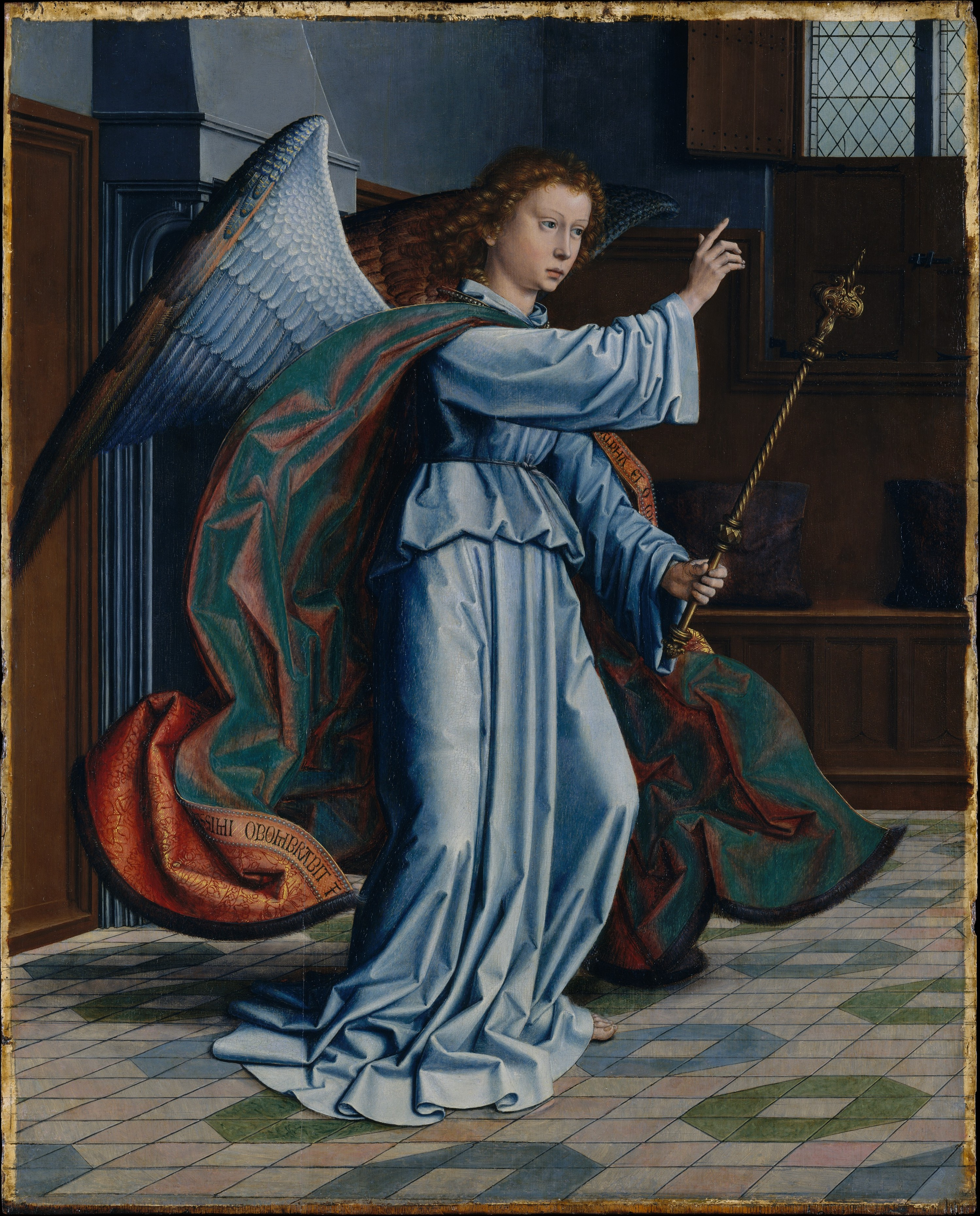 gerard david the annunciation