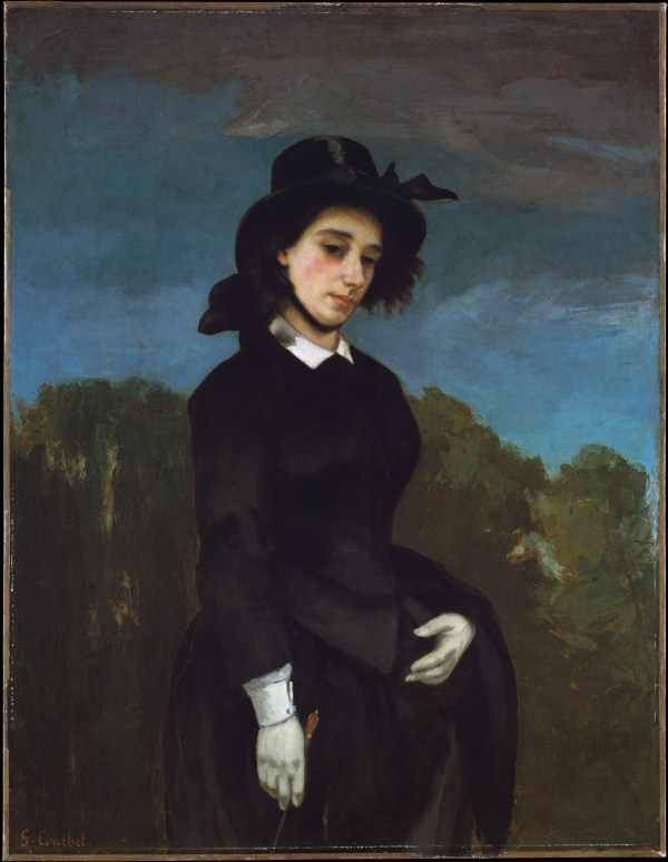 Gustave Courbet Woman In Riding Habit