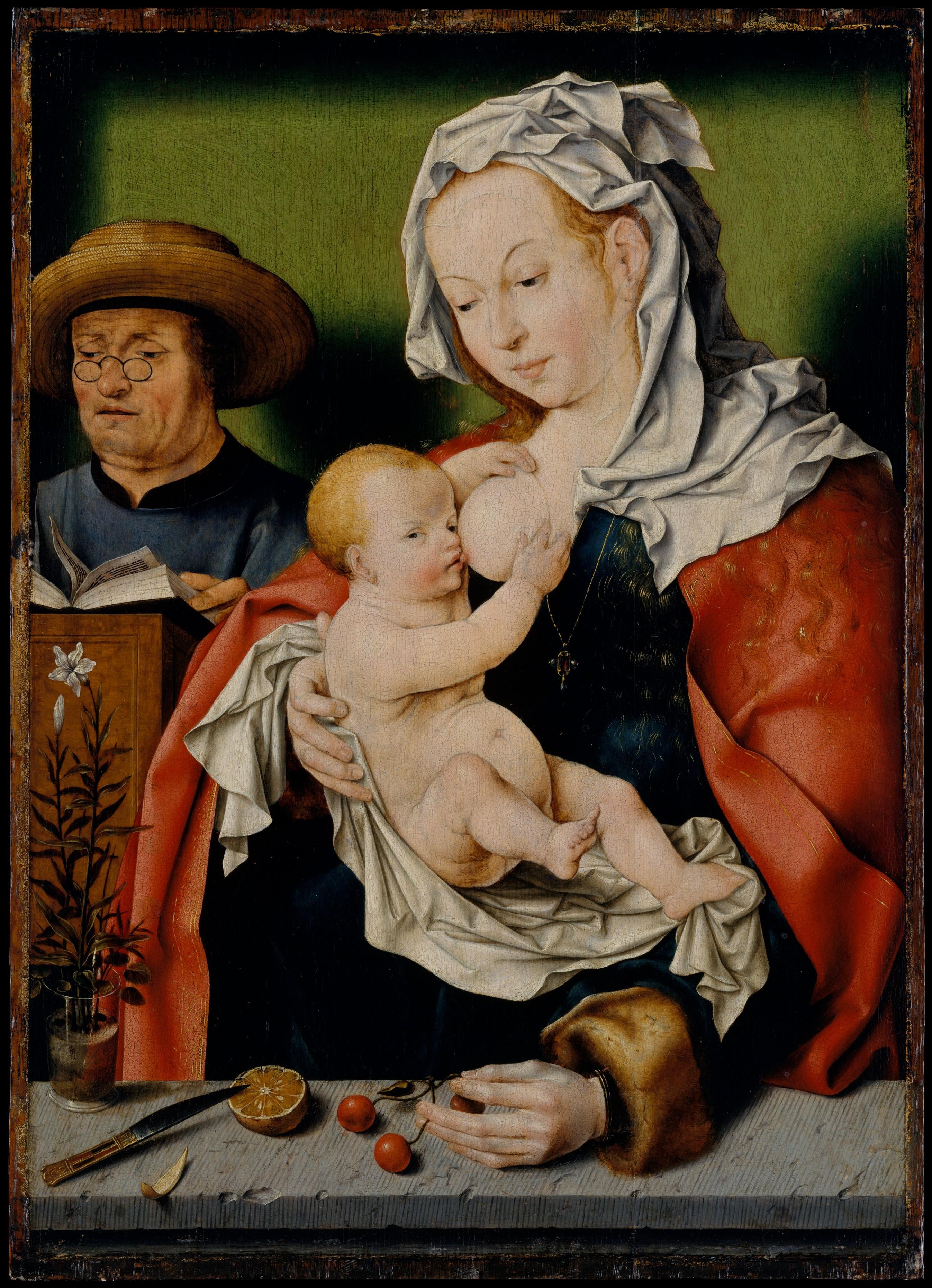 Workshop Of Joos Van Cleve The Holy Family The Met