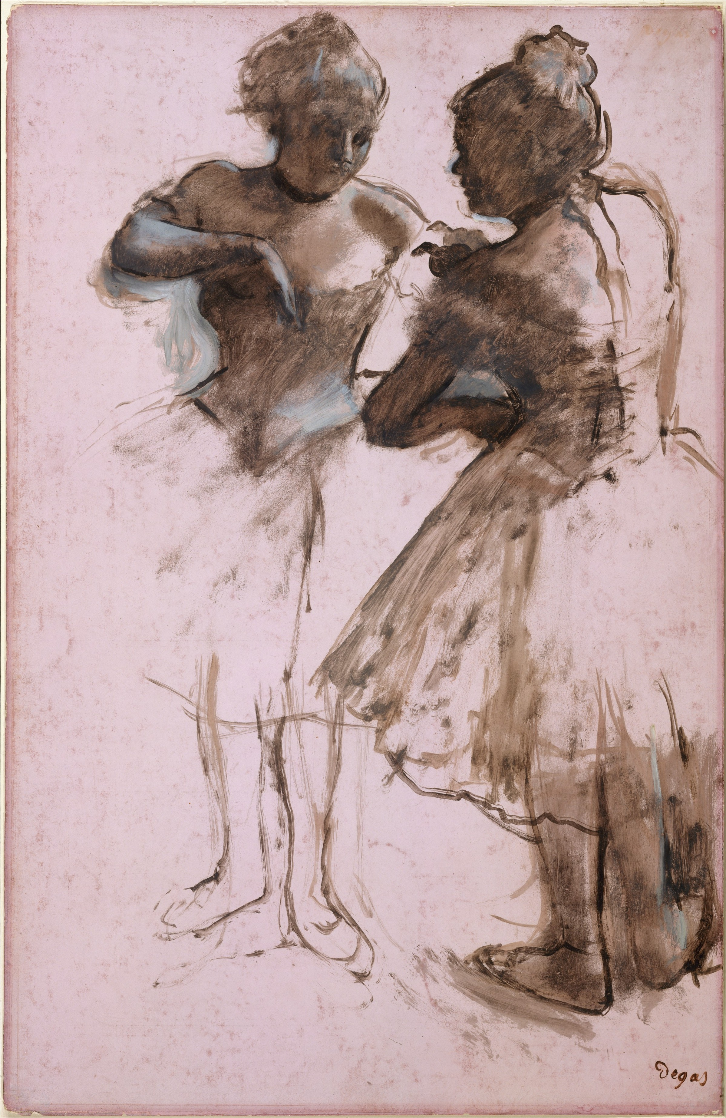 Edgar Degas  Two Dancers  The Met