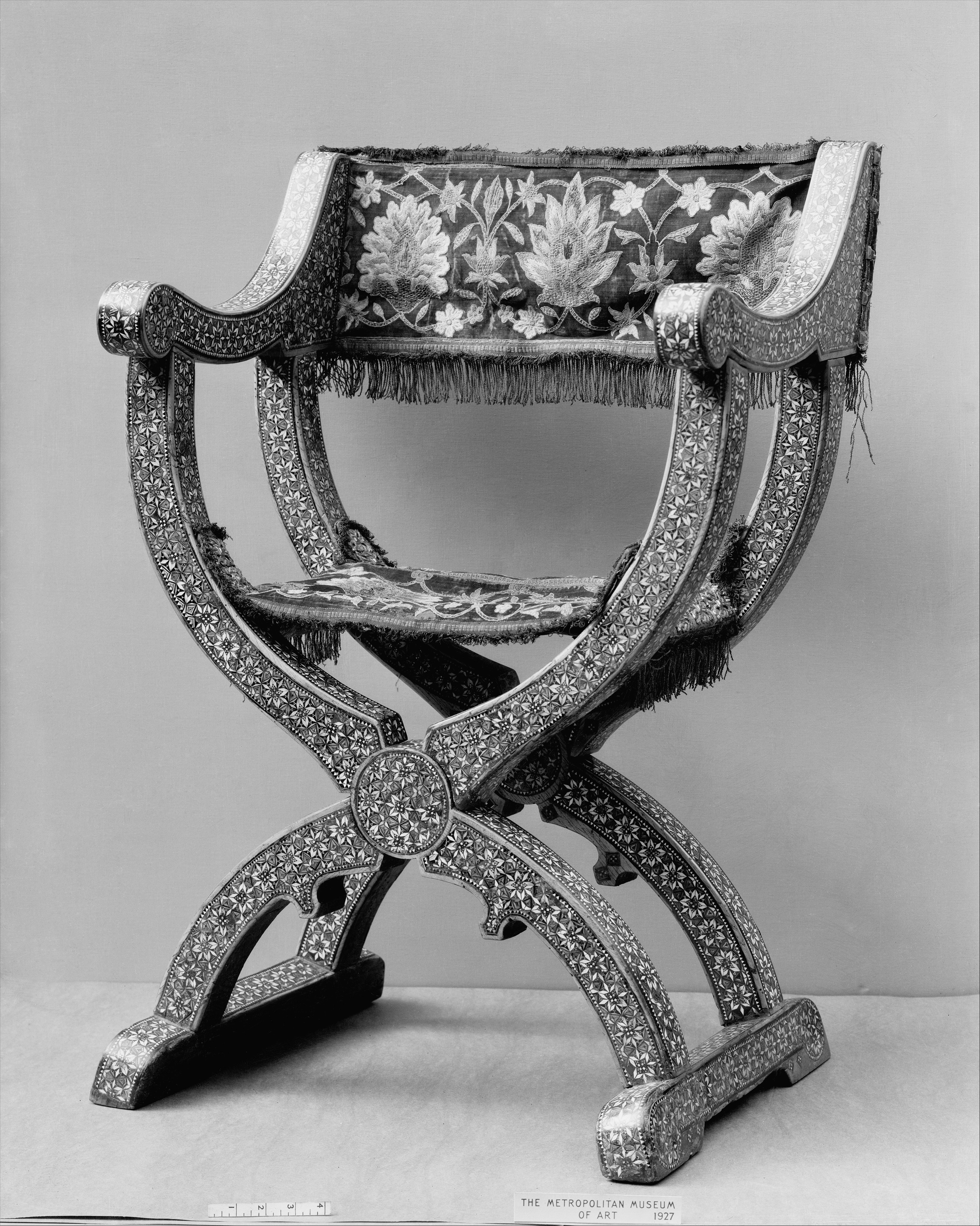 Chair In Spanish Folding Chair Spanish Granada The Met