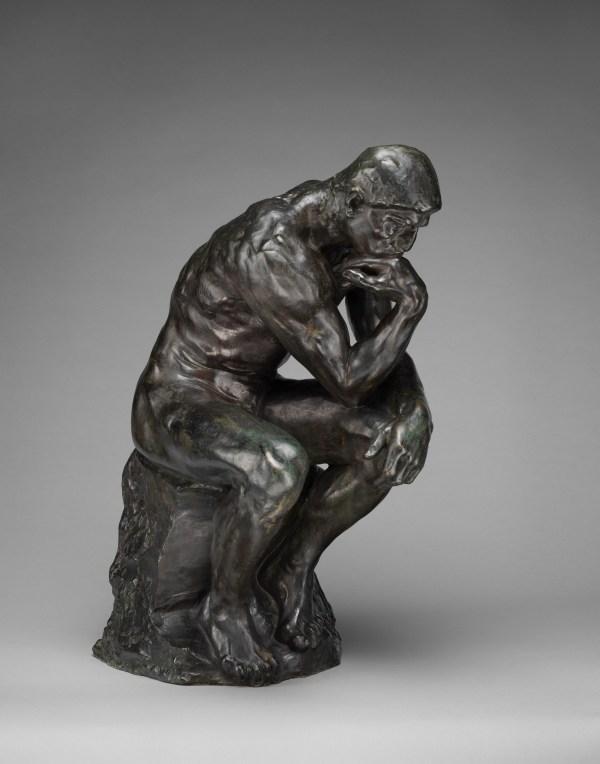 Auguste Rodin Thinker French Met