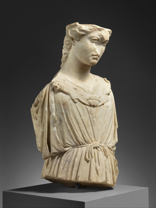 Marble Head And Torso Of Athena Roman Imperial Met