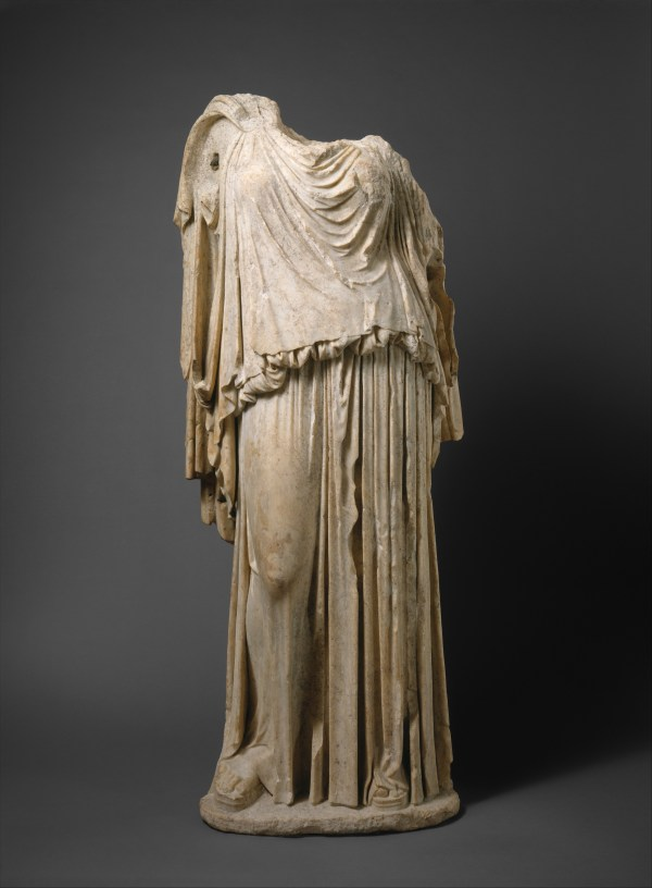 Roman Copy Of Greek Original Kephisodotos Marble Statue Eirene Personification