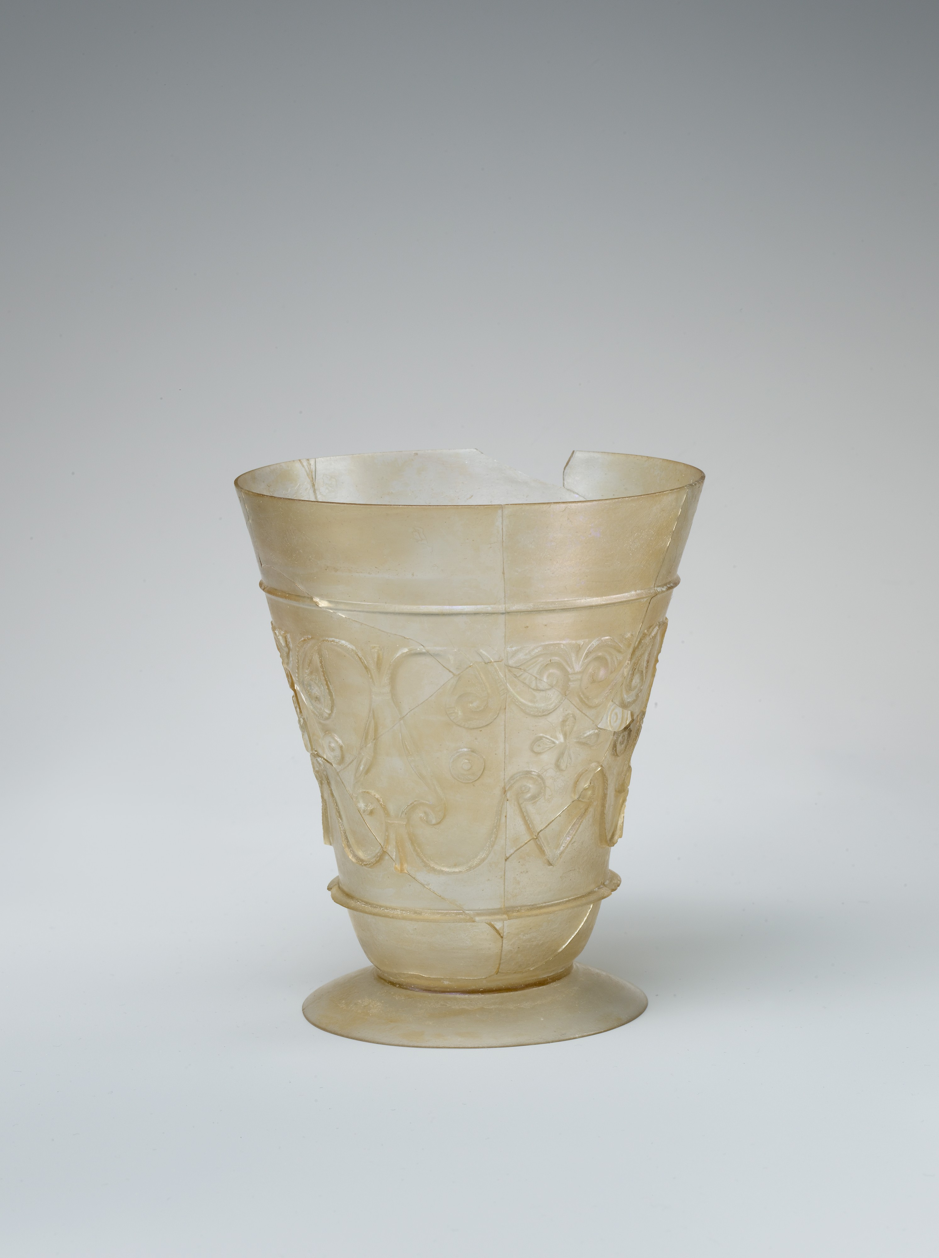 Beaker with Reliefcut Decoration  The Met