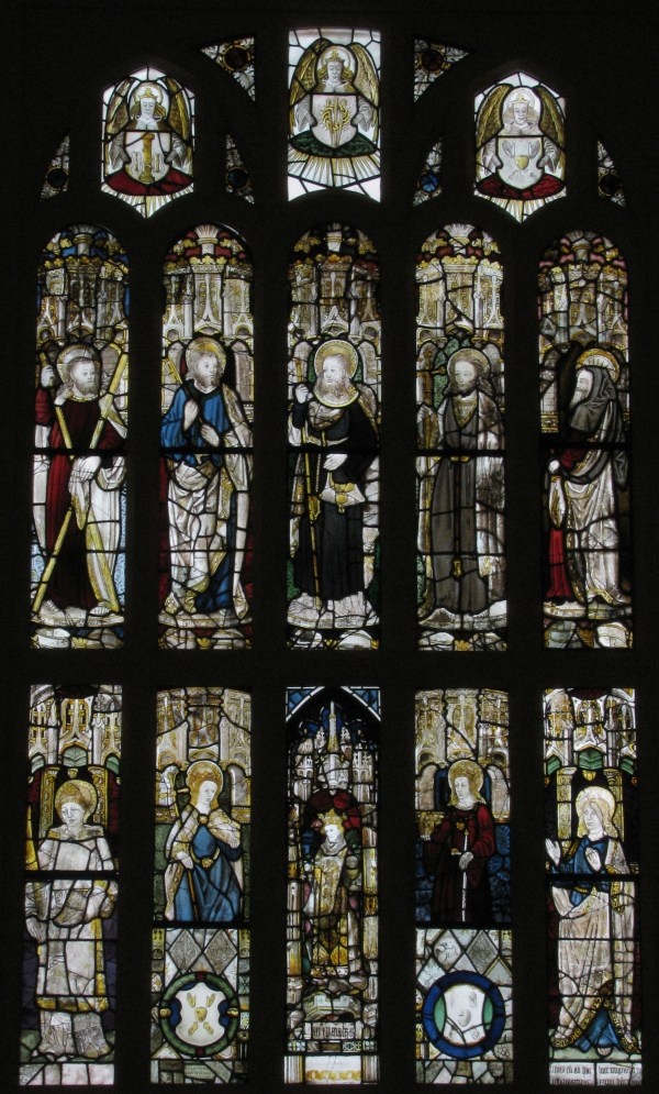 Composite Window Of English Stained Glass British Met
