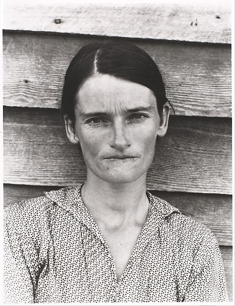 """After Walker Evans: 4"", Sherrie Levine (1981) link del Metropolitan Museum of Art"