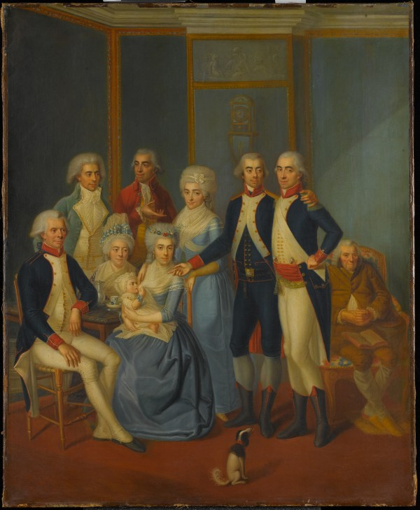 Early 19th Century Painter Portrait Of Military Family Metropolitan Museum Art
