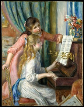Auguste Renoir, Two Young Girls at the Piano, 1892