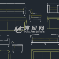 Chairs For Kitchen Table Drawers Or Cabinets In Ccd设计专业图库图块大全 - Autocad其他详图∕图库图纸 沐风图纸