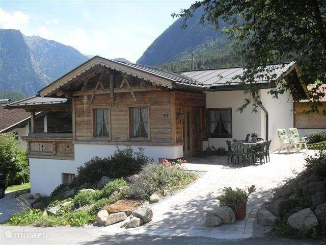 Vakantiehuis Seppls Ferienhaus met eigen sauna in